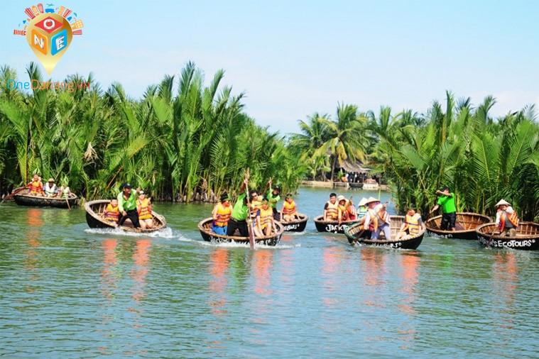 Tour Hội An - Rừng Dừa Bảy Mẫu - Bà Nà - Huế - Sơn Trà ( Khách sạn Hội An, Đà Nẵng)