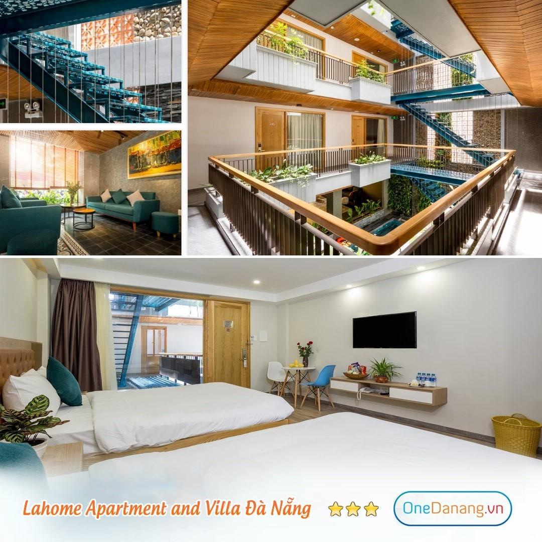 [Lahome Villa Apartment o] Combo 3N2Đ - Đêm nghỉ + Bữa sáng + Đón sân bay