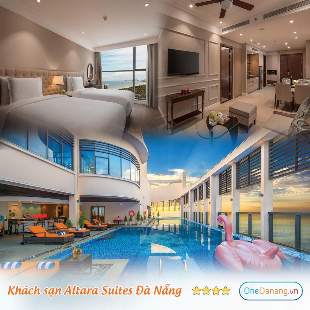 [Khách sạn Altara Suites Đà Nẵng 5 sao] Combo 3N2Đ - Đêm nghỉ + Bữa sáng + Đón sân bay