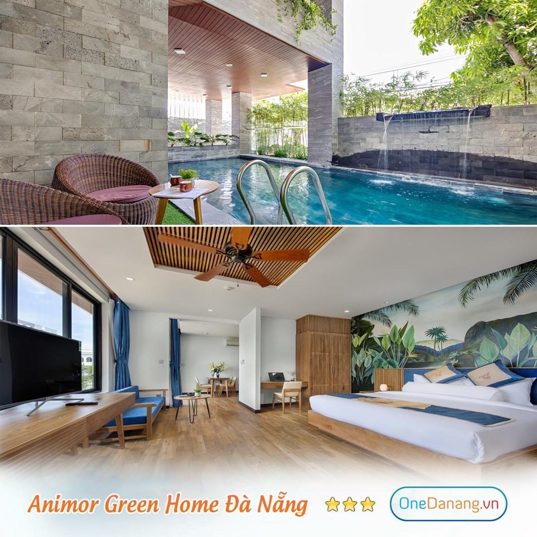 [Animor Green Home] Combo 3N2Đ - Đêm nghỉ + Bữa sáng + Đón sân bay