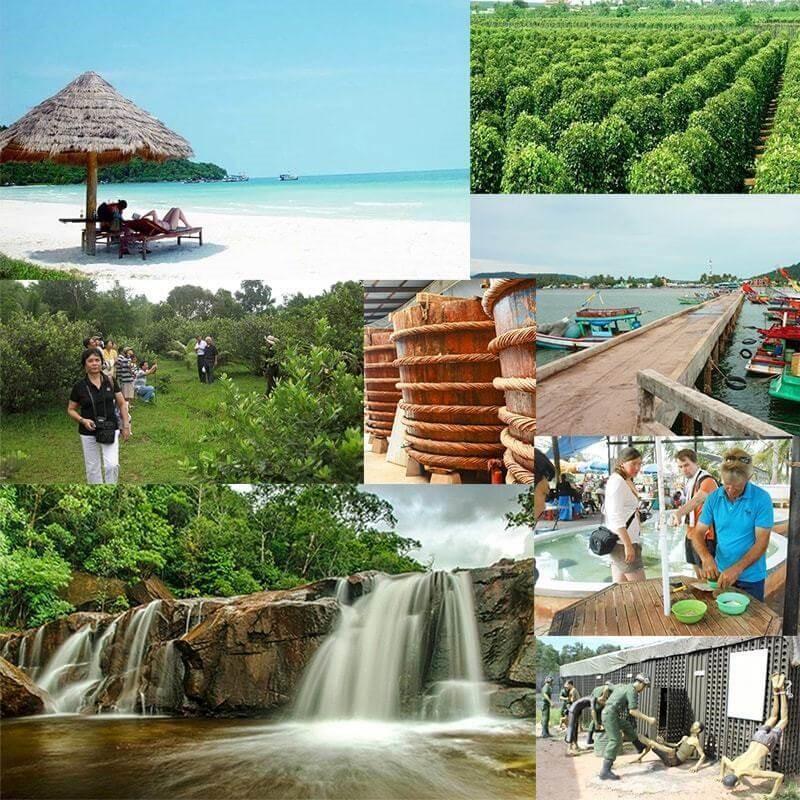 Tour Tham Quan 1 Ngày Đông Nam Phú Quốc
