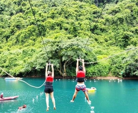 Động Phong Nha - Sông Chày Hang Tối - Động Thiên Đường - Suối Nước Moọc - Vũng Chùa