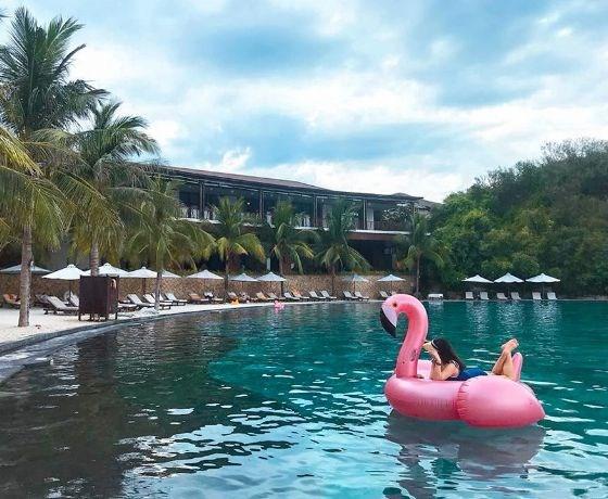 [Amiana Resort Nha Trang] Combo 2N1Đ - Đêm nghỉ + Ăn sáng + Xe buýt đưa đón khách theo khung giờ đến trung tâm Nha Trang.