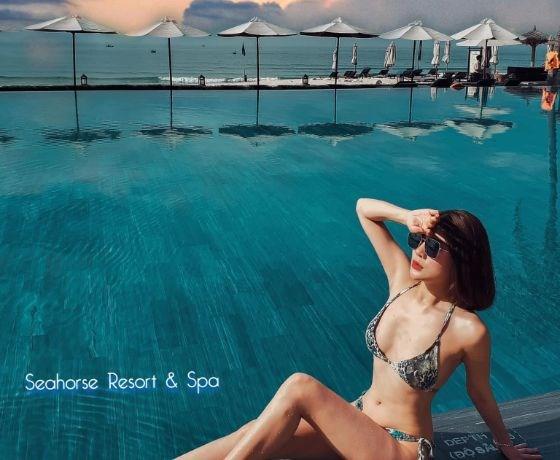 [Seahorse Resort Phan Thiết] Combo 3N2Đ - Đêm lưu trú + Ăn sáng + Ăn trưa + Massage chân/đầu