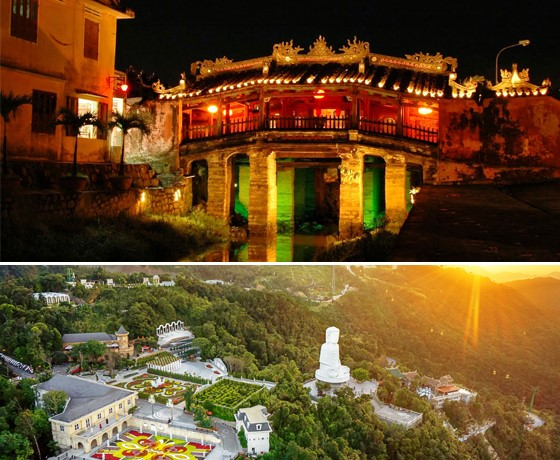 Tour Hội An - Bà Nà - Sơn Trà 3 ngày 2 đêm (Khách sạn Hội An, Đà Nẵng )